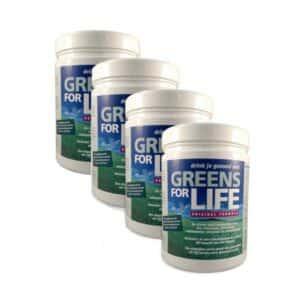 4 x Greens for Life voor de prijs van 3 (PLUS 10% korting!)