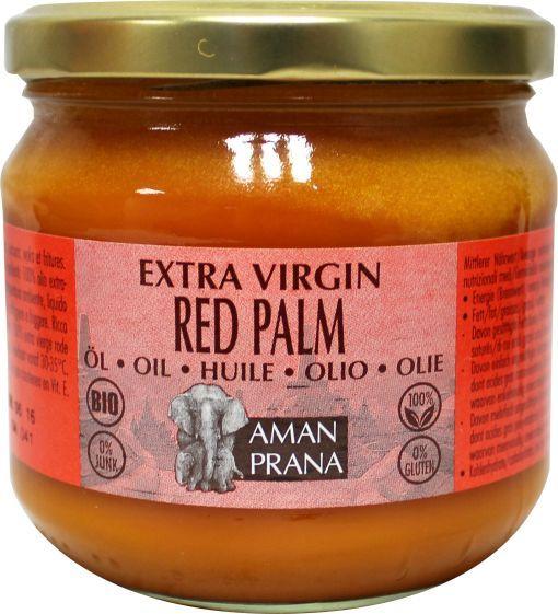 Rode Palmolie Biologisch (325 ml – Amanprana)