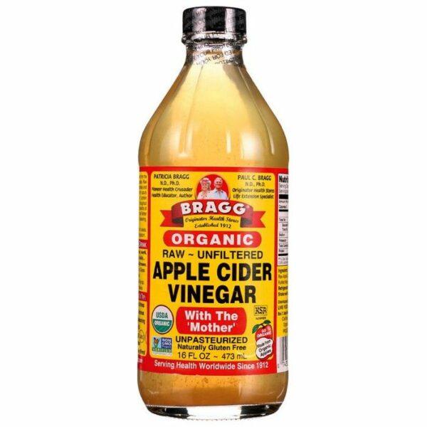 Appelazijn - Biologische Apple Cider Vinegar (473 ml | Bragg)