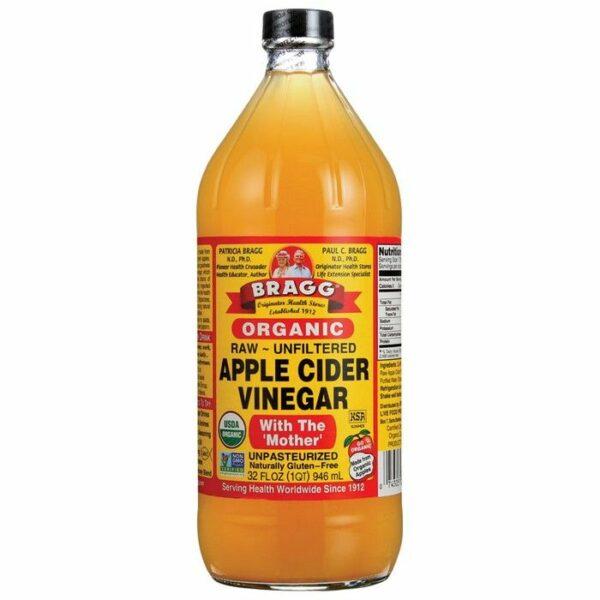 Appelazijn - Biologische Apple Cider Vinegar (946 ml | Bragg)