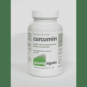 Curcumin 500 mg (Turmeric extract - Young Again - 120 capsules)