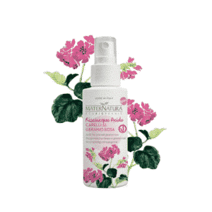 MaterNatura - Acidic hair rinse with geranium rose (150 ml)