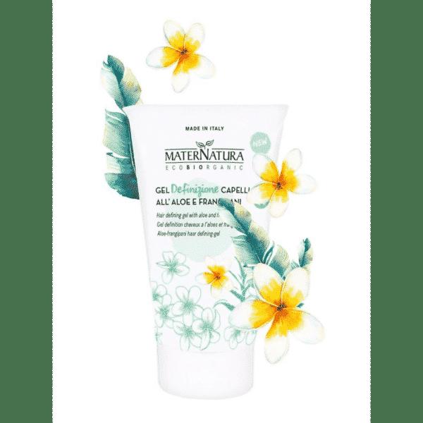 Maternatura - Hair defining gel with aloe and frangipani (150 ml)