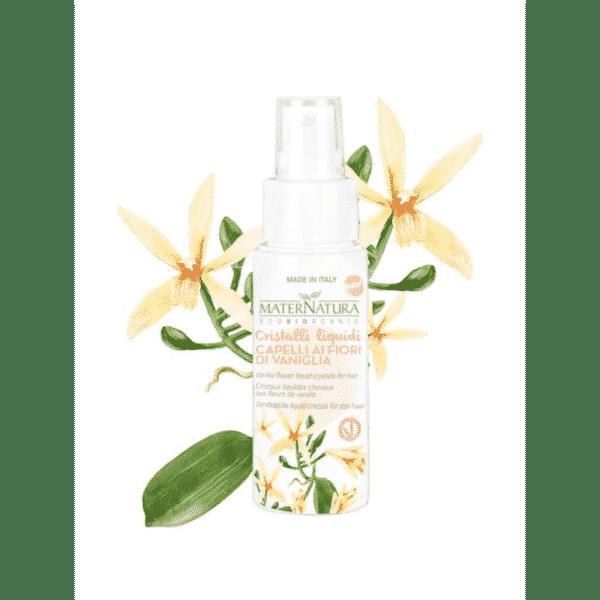 Maternatura - Vanilla flower liquid crystals for hair (50 ml)
