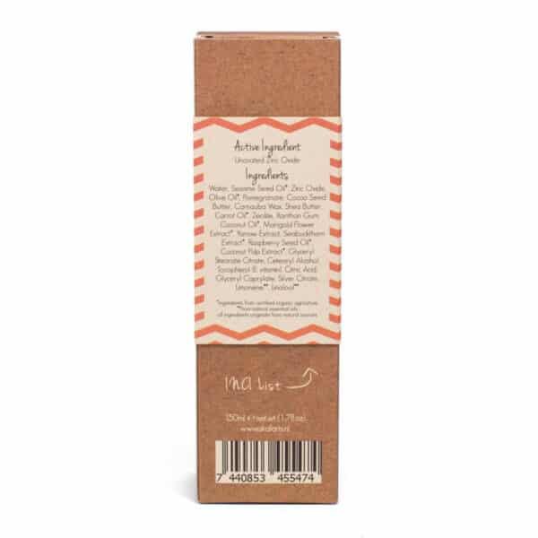 Natuurlijke Zonnebrand Lotion Factor 30 (Skalaris 150 ml)